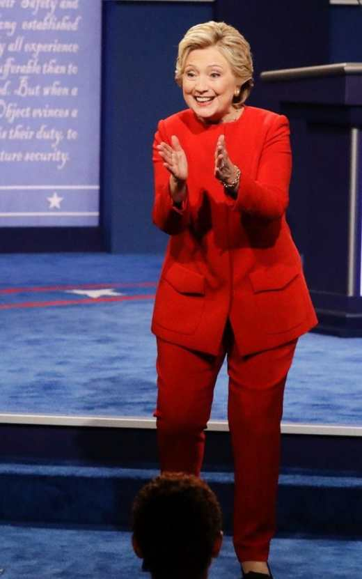 Image result for hillarys election outfits