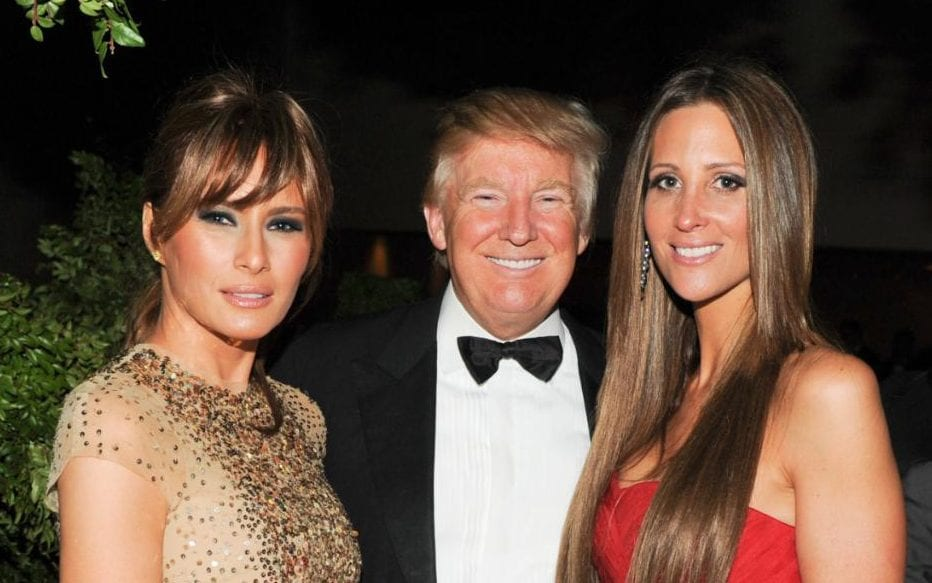 Image result for photos of trump with beautiful wives