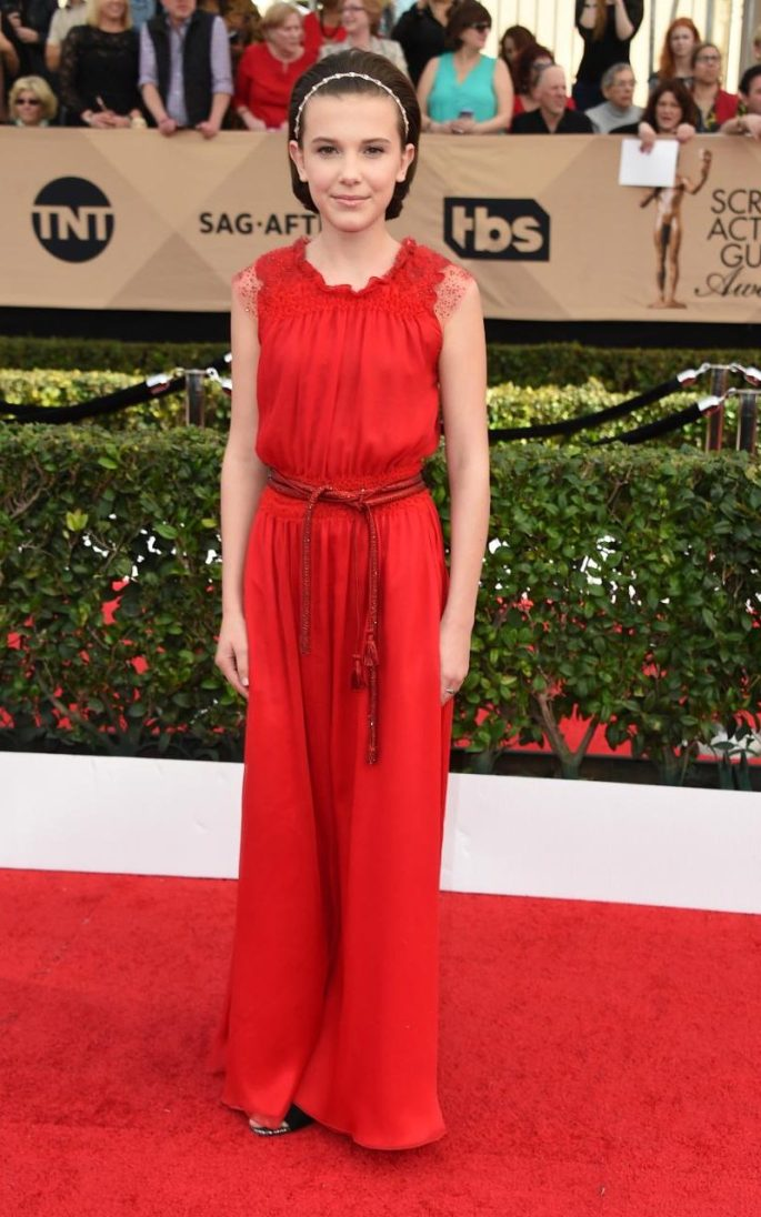 Milllie Bobby Brown SAG Awards