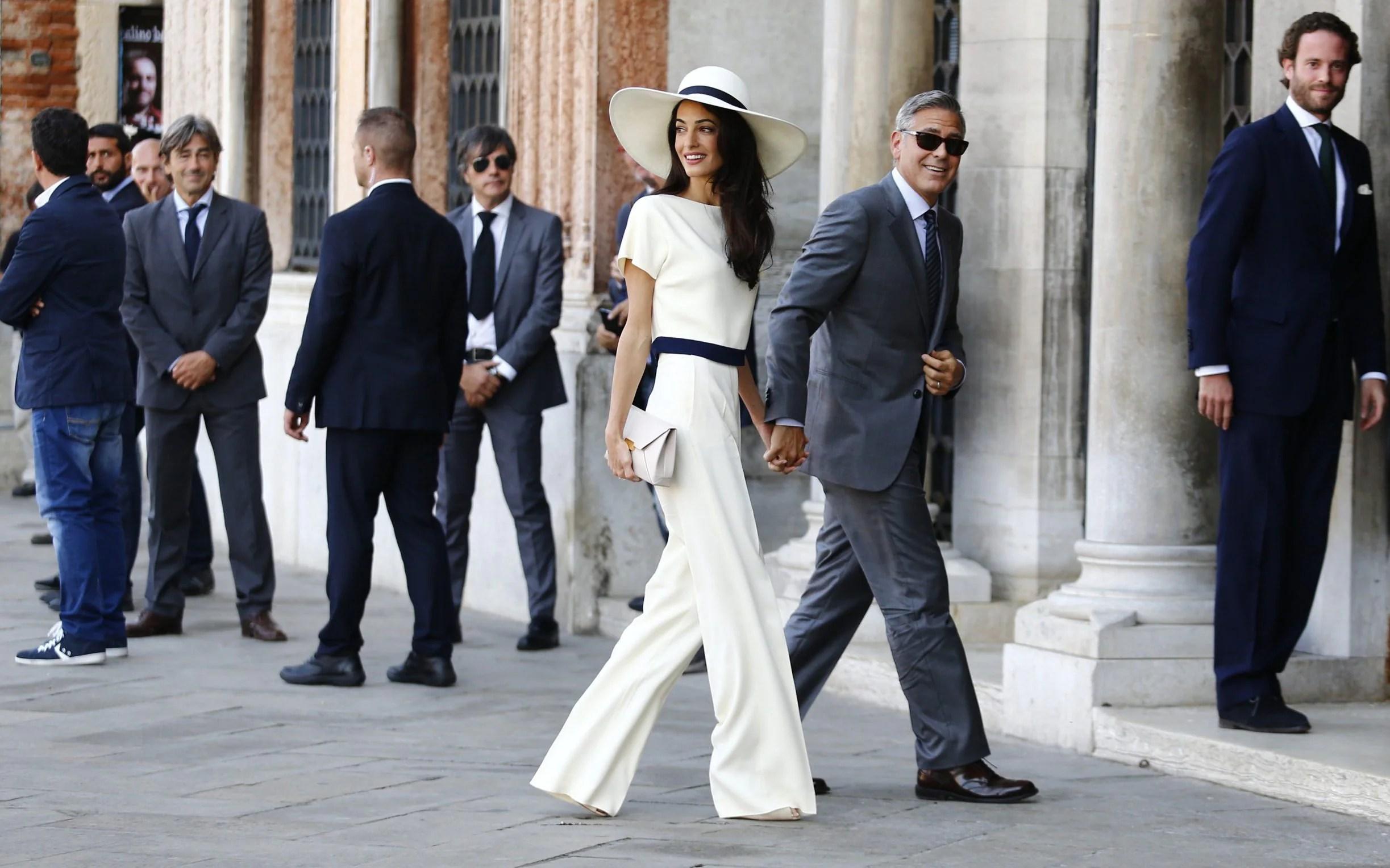 Amal Clooney wears Stella McCartney
