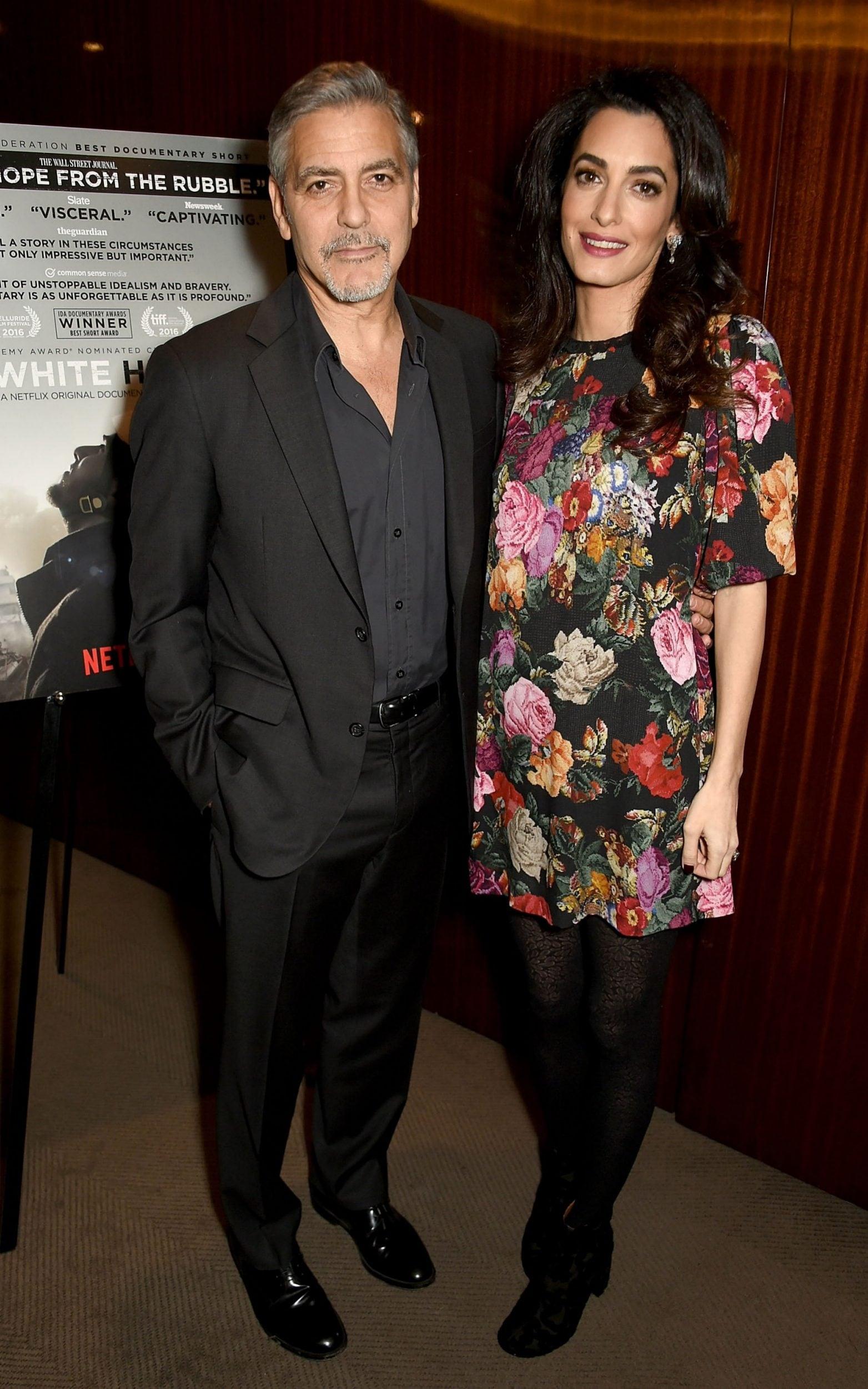 Amal Clooney wears Dolce & Gabbana