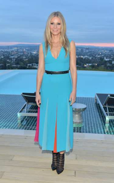 The 40 things every woman should know about fashion over 40 Gwyneth Paltrow  showing how 45 is done