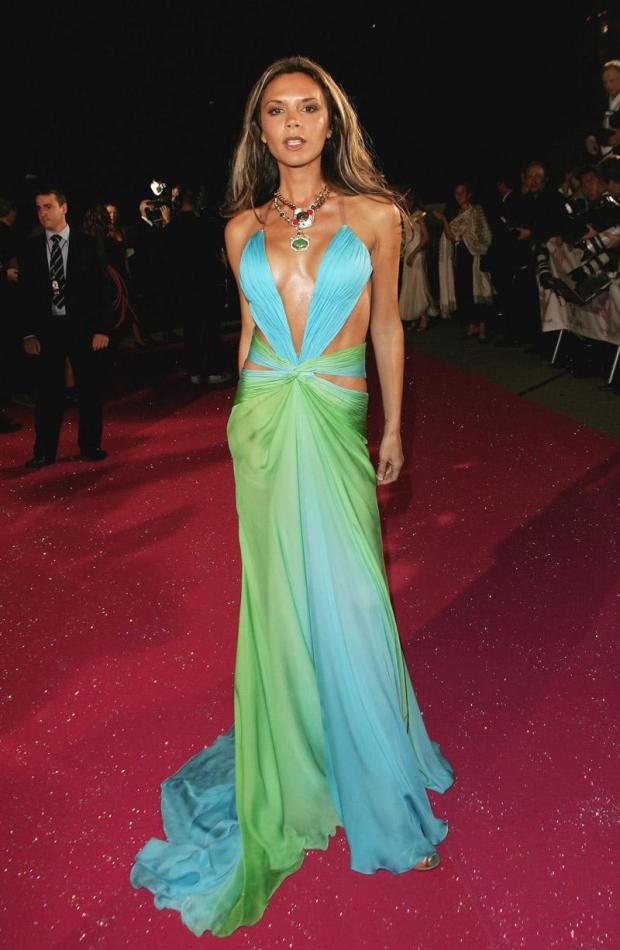 Fashion Rocks, Roberto Cavalli dress