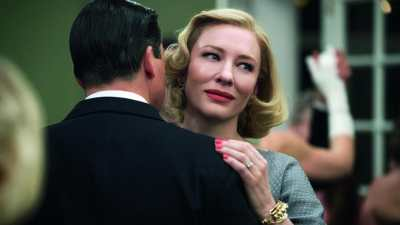 Cate Blanchett is receiving awards season buzz for Carol, playing at the BFI London Film Festival