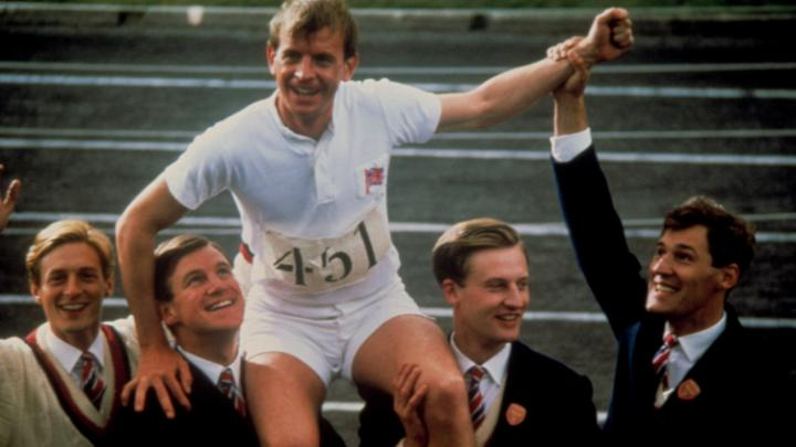 Ian Charleston as Eric Liddell in Chariots of Fire