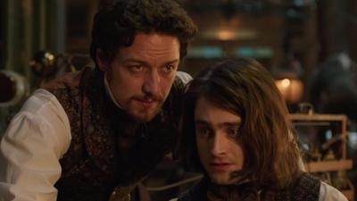 James McAvoy and Victor Frankenstein buddy up in Victor Frankenstein