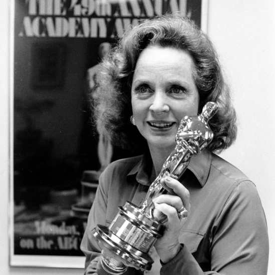 Image result for Beatrice Straight Wins Best Supporting Actress