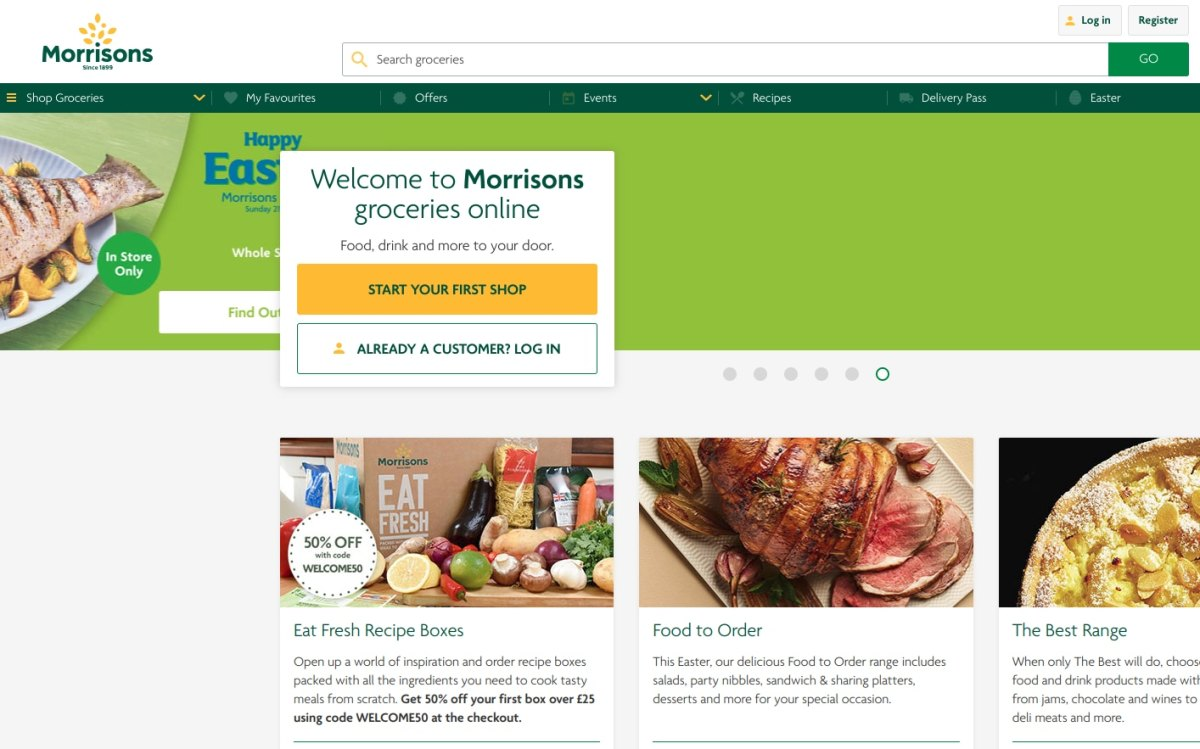Morrisons grocery delivery