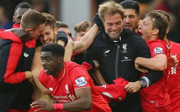 Image result for Klopp: Liverpool gave me my greatest hour in football