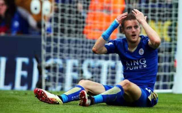 JAMIE VARDY ACCEPTS CHARGE FOR MISCONDUCT