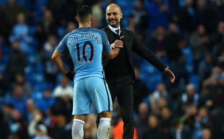 Guardiola was delighted to have come away with a point