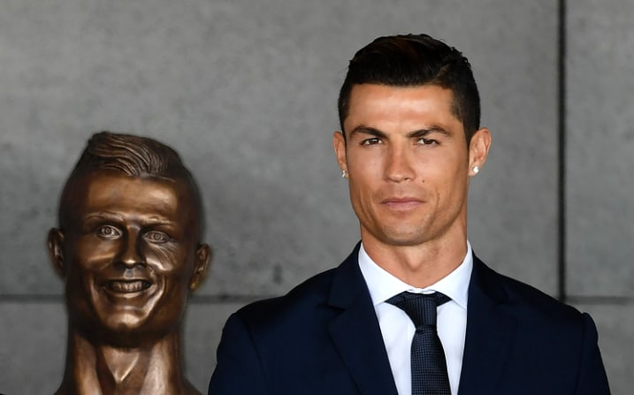 Image result for ronaldo get new airport