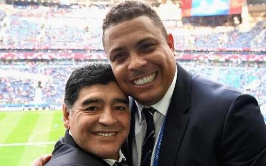Ronaldo and Maradona