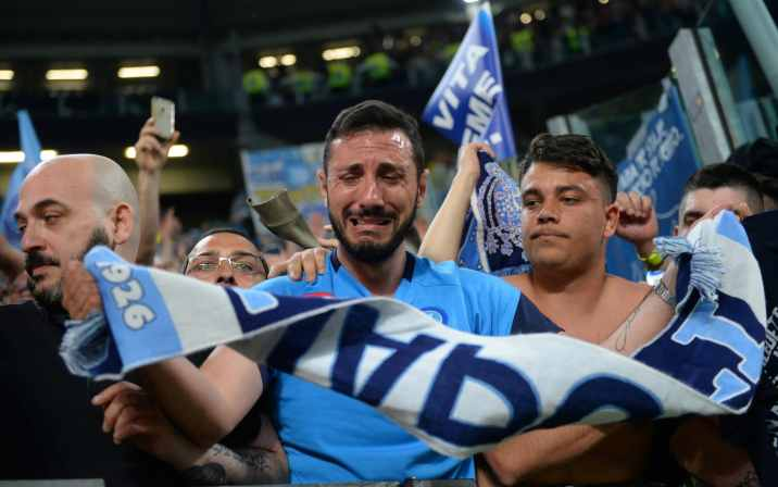 Tears of joy as Napoli reignite Serie A title race with last-gasp win at Juventus
