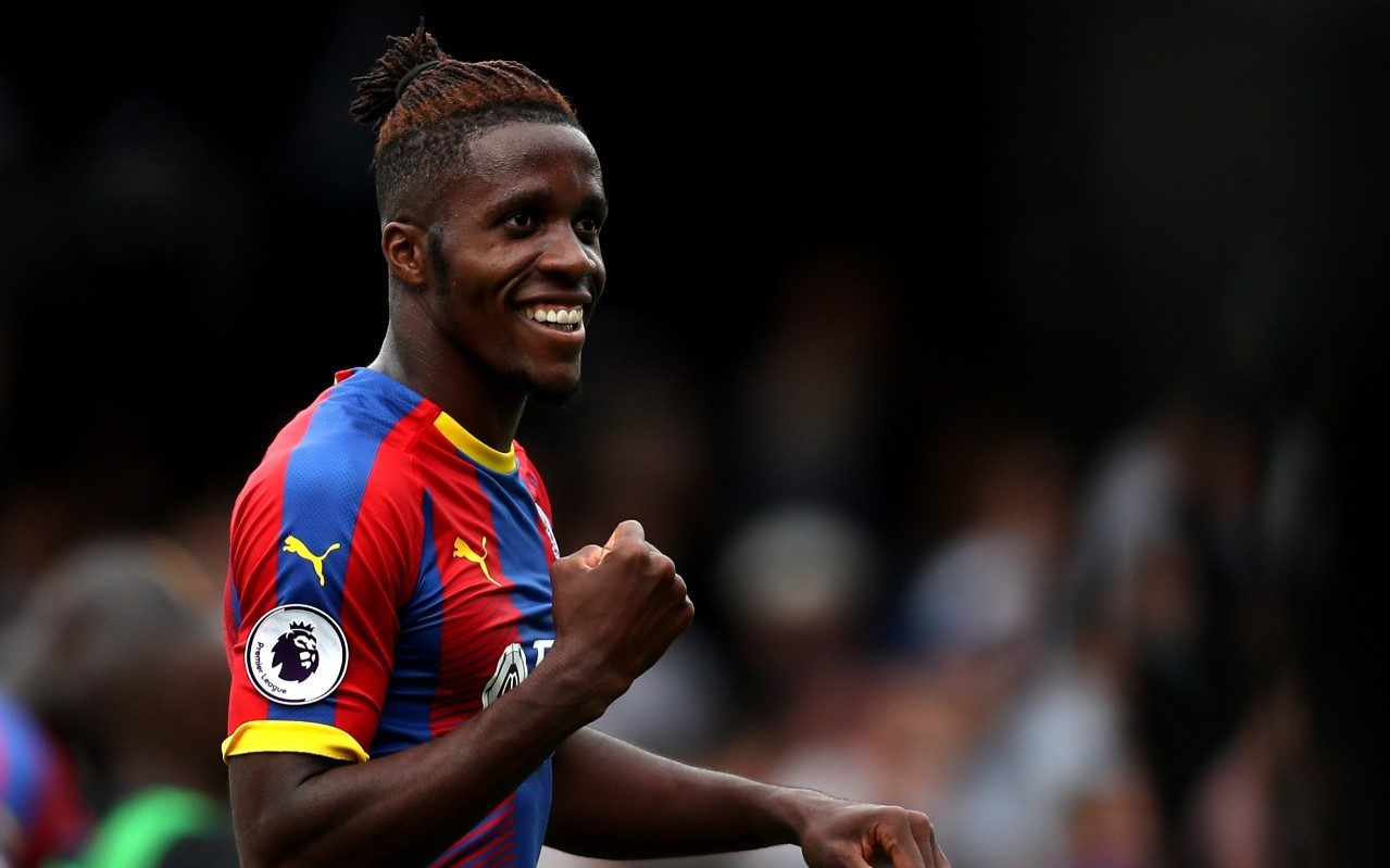Wilfried Zaha Commits His Future To Crystal Palace By