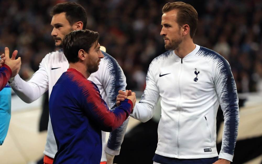 Brutal precision of Harry Kane the mere support act to Lionel Messi's  all-round Wembley magic show