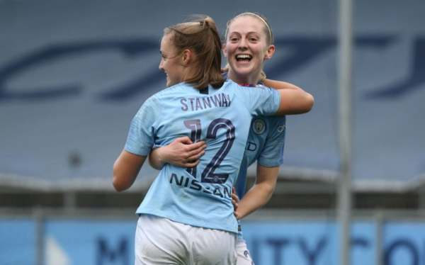 Georgia Stanway scores twice as Manchester City end ...