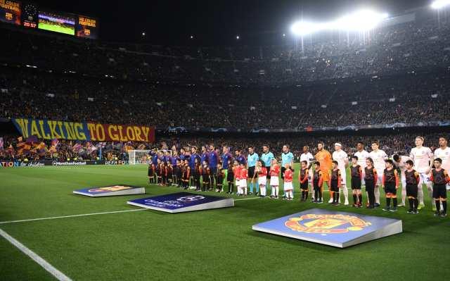 Image result for barcelona vs manchester united 2019