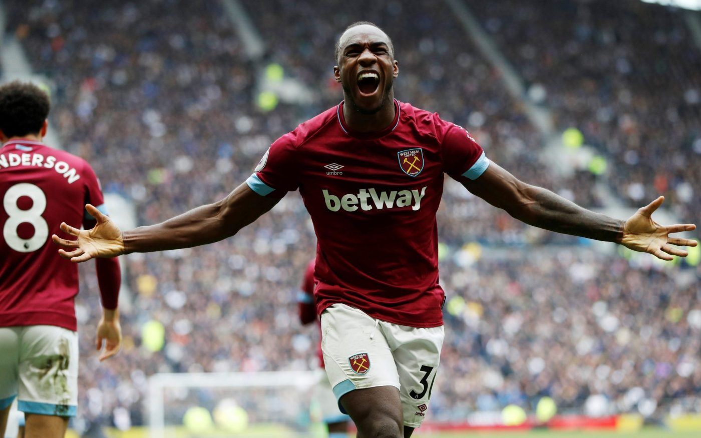 Michail Antonio fires West Ham to victory and inflicts first defeat on  Tottenham at new home