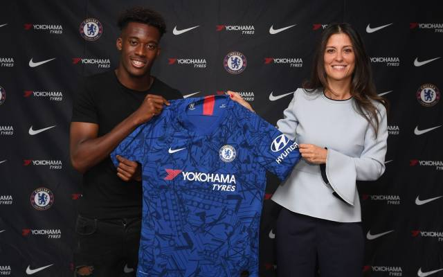 Callum Hudson-Odoi signs new five-year, £120,000-a-week contract with  Chelsea