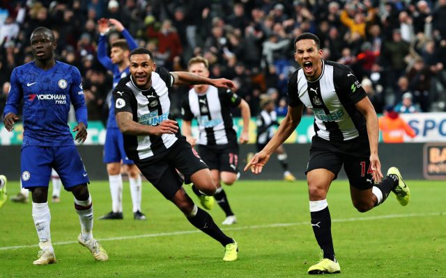 Isaac Hayden scores late winner as Newcastle steal victory in tight Chelsea  clash