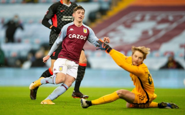 Louie Barry steals the show as Liverpool make hard work of makeshift Aston Villa youth team