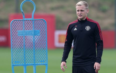 Donny van de Beek says he needs to trust Ole Gunnar Solskjaer's word about  being in his plans