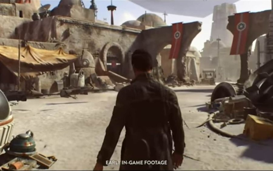 Developers of an upcoming Star Wars video game  Visceral Games  to     Early in game footage of Visceral s untitled Star Wars game