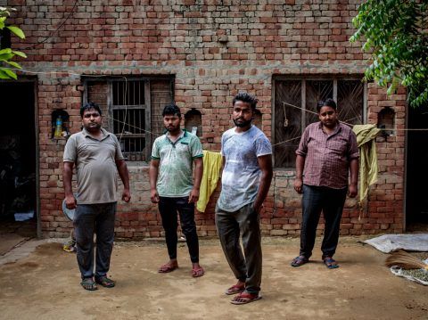 A family of brothers from a village in Baghpat say they are struggling to find wives because of a lack of women where he lives