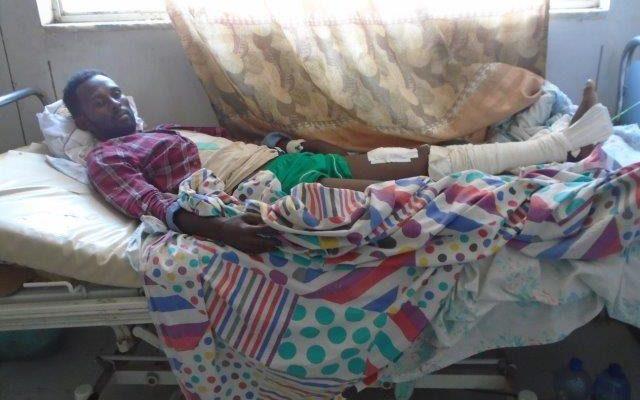 Solomon Gebremaryam, a 32 year old civil servant and survivor of the massacre