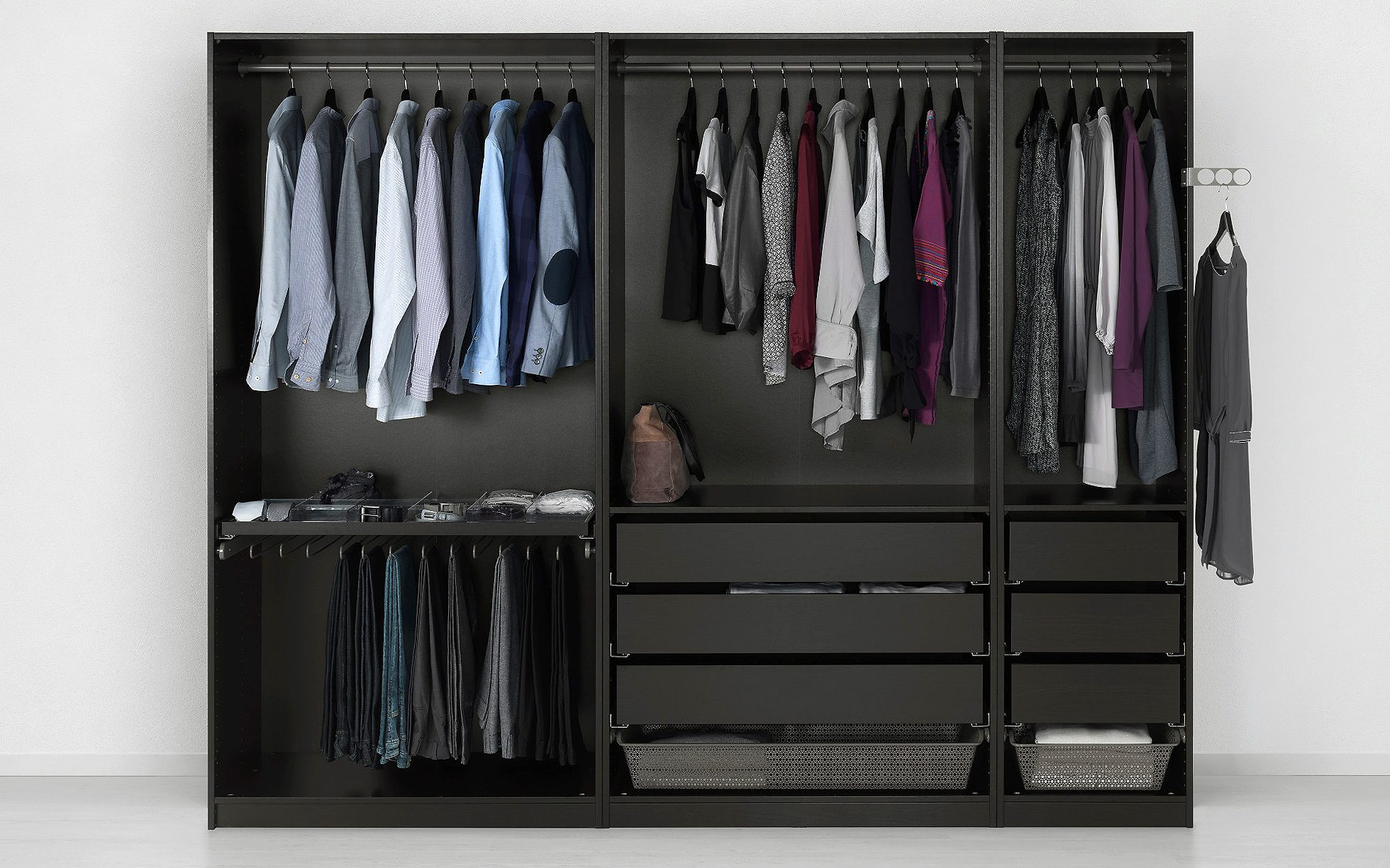 Choosing The Perfect Wardrobe A Complete Guide To Hanging Storage