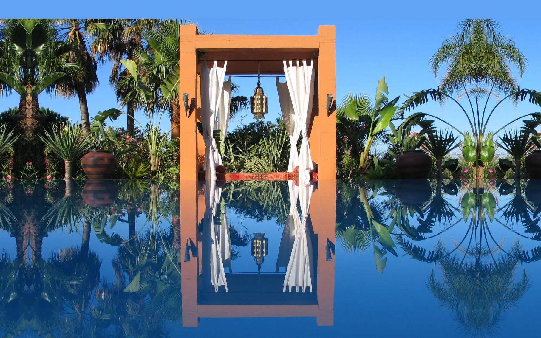 The infinity pool at DDG retreat which has got itself noticed as one of the best in Europe according to several magazines