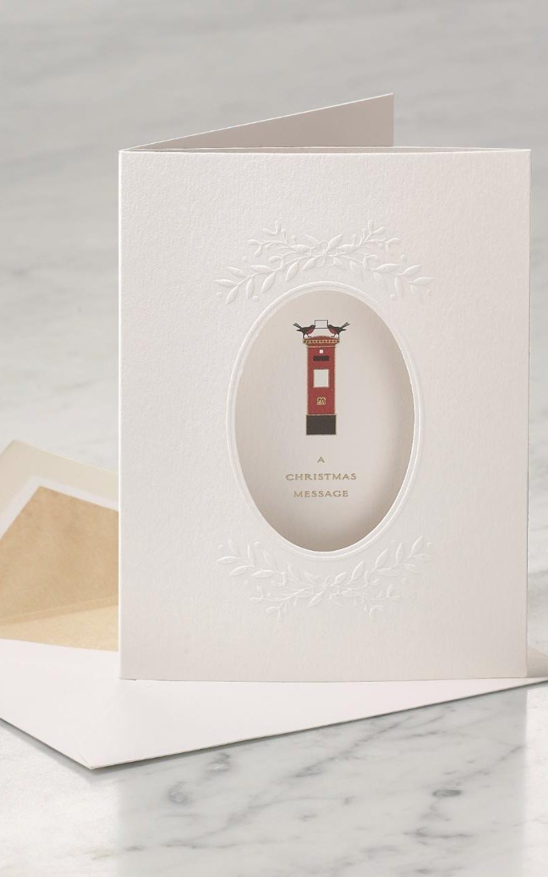 Smythson Presents Handcrafted Personalised Christmas Cards