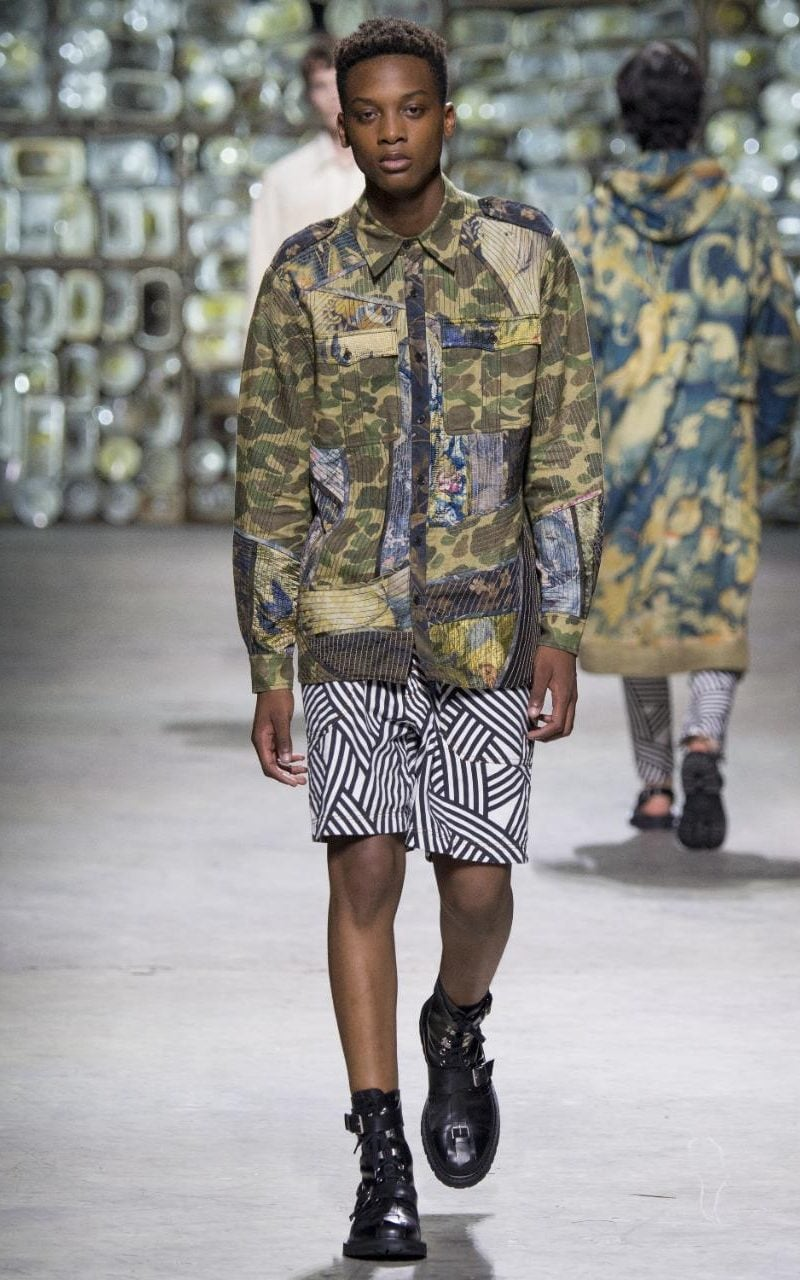 Camo Chameleon Is It Time To Embrace Menswears Most
