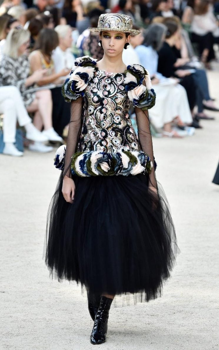 Chanel Couture The Bold Strong Shape Of Silhouettes To Come