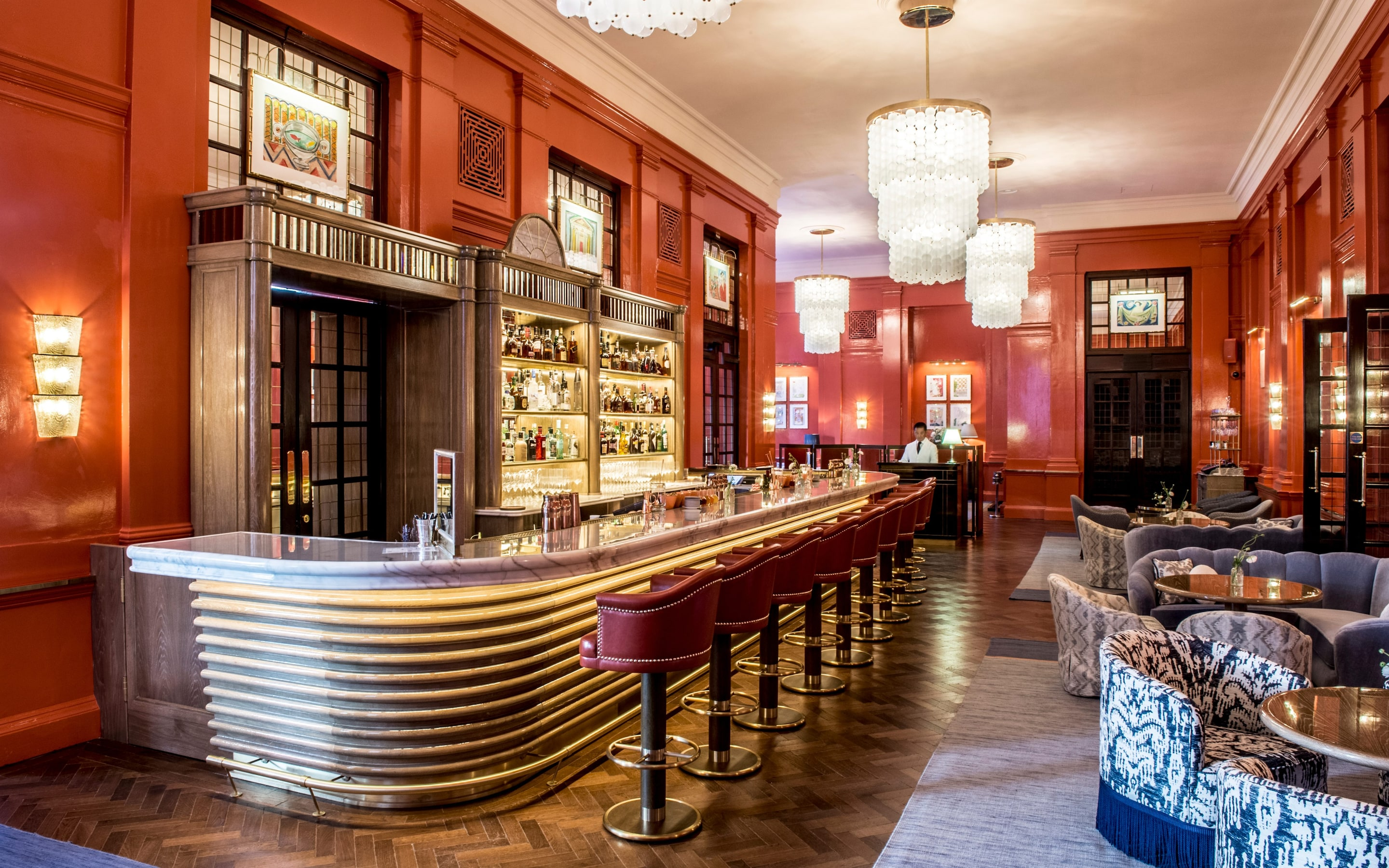 Straight Up The Coral Room Bar At The Bloomsbury