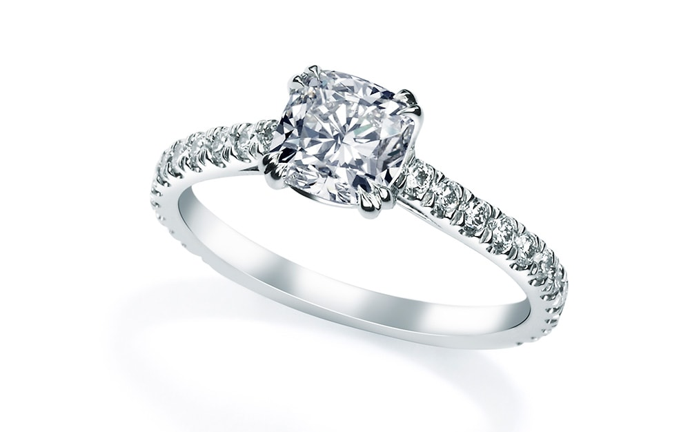 Pave ring from Mappin and Webb