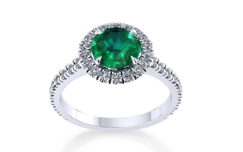 The Amelia engagement ring by Mappin & Webb