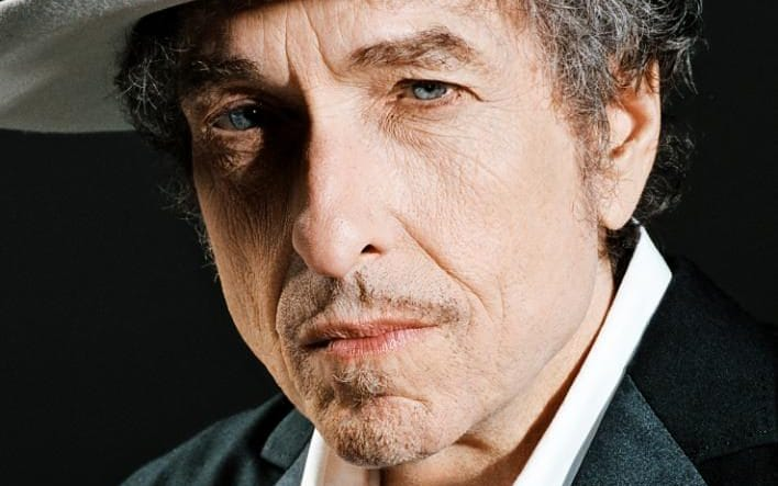 Bob Dylan was announced as the recipient of the Nobel Prize for Literature - but then removed mention of it from his website