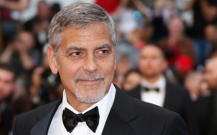 George Clooney's immaculate complexion suggests he almost certainly sleeps in the nude