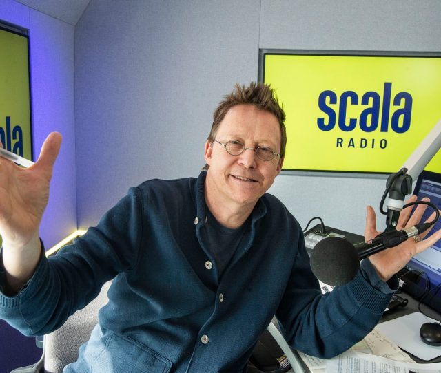 Simon Mayo Completes The First Show To Broadcast On Scala Radio On Monday