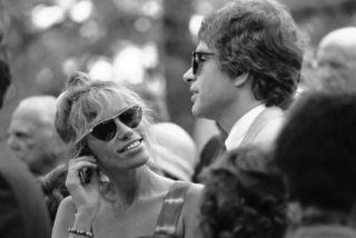 You're so vain: Carly Simon with Warren Beatty in 1984