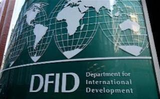 The report praised the Department for International Development (DfID) for its improved management of aid money