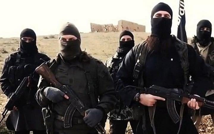 A file photo of ISIL fighters.