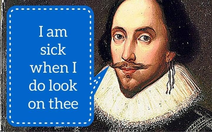 Shakespeare insult