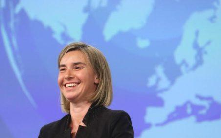 Znalezione obrazy dla zapytania shutterstock Federica Mogherini