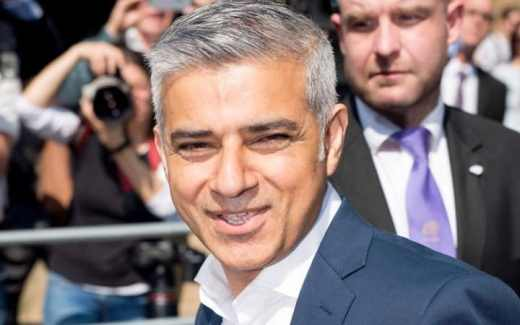 Sadiq Khan is London's first Muslim mayor