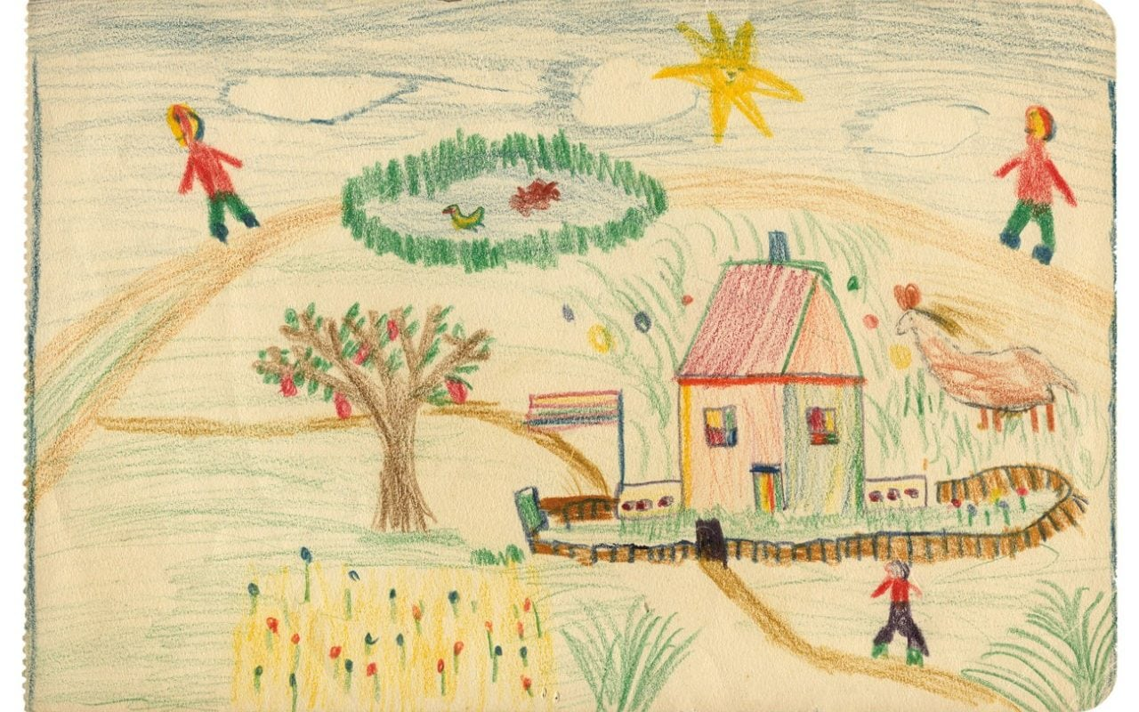 Lucian Freuds Childhood Drawings Go On Show For First Time