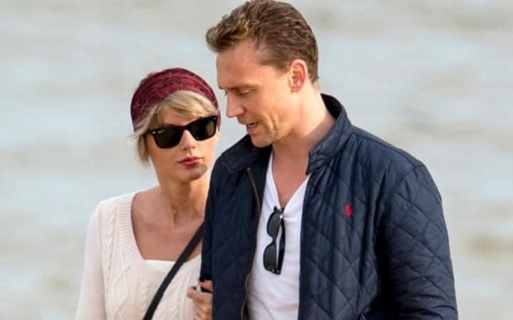 Image result for taylor swift and tom hiddleston