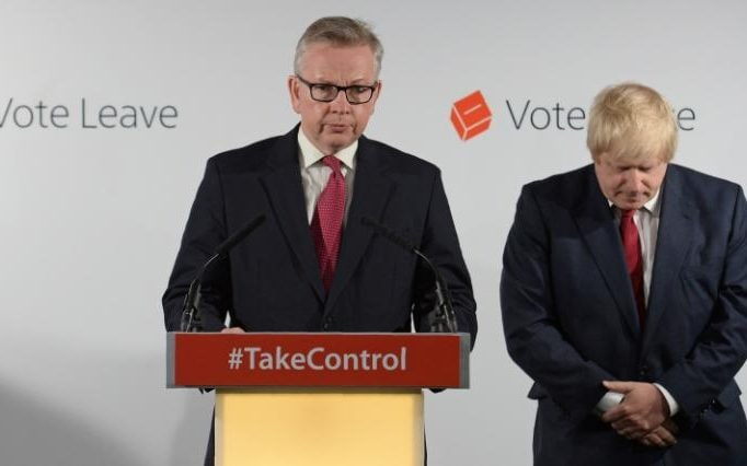 Image result for boris johnson michael gove